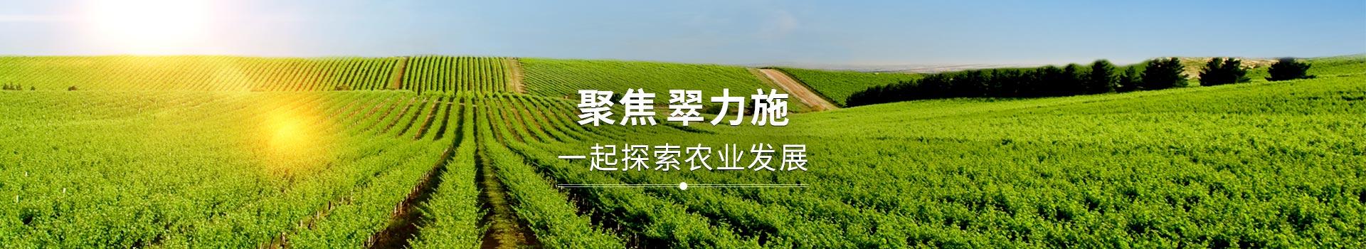 聚焦翠力施,一起探索农业发展